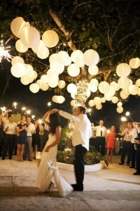 световое оформление для свадьбы